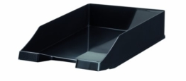 HAN 1027-X-13, Briefablage KLASSIK, Modern, Schick und Hochglänzend, 10er Packung, schwarz -
