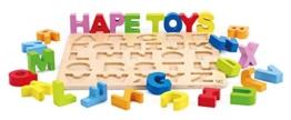 Hape E1502 - Buchstaben Puzzle -
