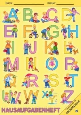Hausaufgabenheft Grundschule ABC -