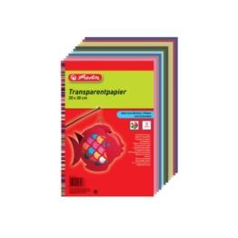 Herlitz 246413 Transparentpapier, 20 x 30 cm, 10 Blatt, 5-er Pack -