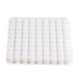 HIMRY 900 Stück Klett - Klebe - Punkte, 450 Paar, 10 mm, 1 cm, Stark und Robust, Self Adhesive Velcro, Haken und Schlaufe Aufkleben, Weiß, KXB5025 White -