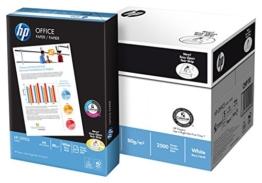 HP Papier Office A4 80g/qm 5x500 Blatt (1 Karton x 5 Pakete) -