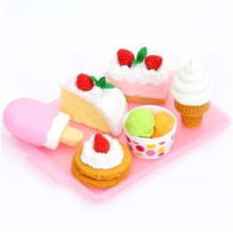 Iwako Radiergummi Dessert 6 Stück Set -