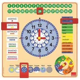 Jumbo D51309 - Kalender-Uhr -