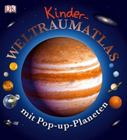 Kinder-Weltraumatlas mit Pop-up-Planeten -