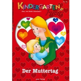 Kindergarten-Fuchs - Lernheft inkl Arbeitsblätter Nr 58: Muttertag -