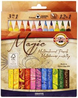 Koh-I-NOOR Magic Jumbo-Dreikant Farbstift (13Stück) -