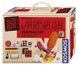 Kosmos 604073 - AllesKönnerKiste, Airbrush Textil-Design -
