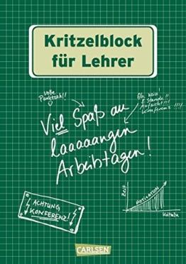 Kritzelblock für Lehrer -