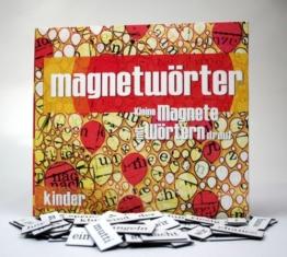 Kylskapspoesi 10006 - Magnetwörter: Kinder -