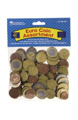 Learning Resources Euro Münzen Set (100 Stück) -