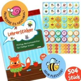 Lehrer Stickerbuch -