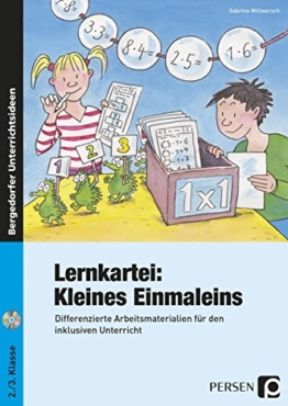 Lernkartei: Kleines Einmaleins: Differenzierte Arbeitsmaterialien für den inklusiven Unterricht (2. und 3. Klasse) -