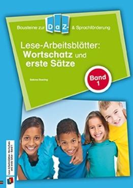 Lese-Arbeitsblätter: Wortschatz und erste Sätze - Band 1 (Bausteine zur DaZ- und Sprachförderung) -