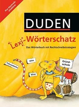 Lexi-Wörterschatz: 2.-4. Schuljahr - Wörterbuch mit Abschreibschablone: Festeinband -