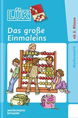 LÜK / Mathematik: LÜK: Das große Einmaleins: ab Klasse 3 -