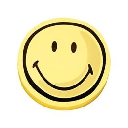 magnetoplan 1111562 Moderationskarten Smiley positiv -