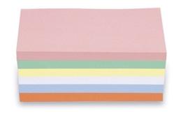 magnetoplan 112501510 Moderationskarten, rechteck, sortiert -