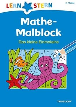 Mathe-Malblock  2. Klasse. Das kleine Einmaleins -