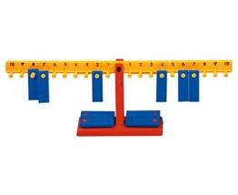 Mathematik-Waage, Grundlagen der Mathematik erforschen - Rechnen lernen Lehrmittel Grundschule 1.Klasse 20 Anhängergewichten Rechenspiel -