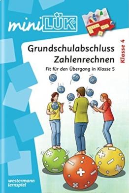 miniLÜK / Mathematik: miniLÜK: Grundschulabschluss Zahlenrechnen: Fit für den Übergang in Klasse 5 -