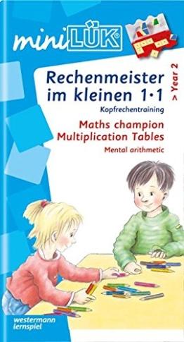 miniLÜK / Mathematik: miniLÜK: Rechenmeister im kleinen 1x1: Kopfrechentraining ab Klasse 2 -
