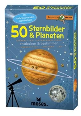 moses. 9740 - Expedition Natur 50 Sternbilder und Planeten, mehrfarbig -