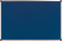 Nobo Elipse 1900915 Pinnwand Filz (Aluminiumrahmen, 900 x 600 mm) blau -
