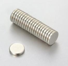Oblique-Unique® 20 Neodym-Supermagnete 6 x 1 mm -