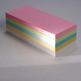 """Office Line Moderationskarten """"Rechtecke"""", farblich sortiert, 130 g, Format: 20 x 9,5 cm, 500 Stück -"""