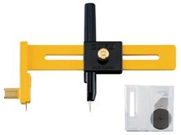 Olfa Kreisschneider für Kreise von 1-15cm DM -