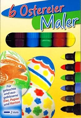 Ostereier Maler / Stifte OSTERN (5 Farben) -