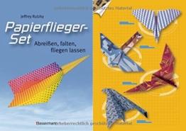 Papierflieger-Set: Abreißen, falten, fliegen lassen. Buch und bedrucktes Faltpapier -