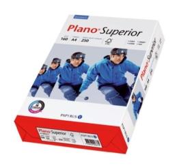 Papyrus 88026787 Multifunktionspapier PlanoSuperior 160 g/m², A4 250 Blatt weiß -