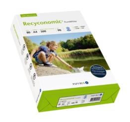 Papyrus 88031825 Multifunktionspapier Recyconomic PureWhite 80 g/m², A4 500 Blatt weiß -