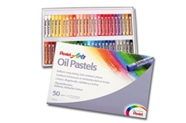 Pentel Ölpastellkreide Set à 50 Stück -