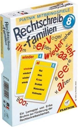 Piatnik - 702402 Rechtschreibfamilie -