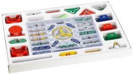 Playtastic 33-teiliger Elektronik-Baukasten mit Druckknopf-Technik -