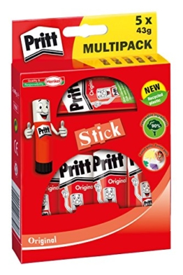 Pritt 1445029 Klebestift, 5 x 43 g -