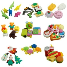 Radiergummi Süß Essen Tiere Früchte Spielzeug Nachmachung Gummi Set 1 Stück - Küchen Produkte -