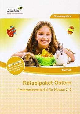 Rätselpaket Ostern (Set). Grundschule. Fächerübergreifend. Klasse 2-3: Kopiervorlagen, Heft -