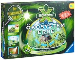 Ravensburger 18889 - Experimentierkasten ScienceX Ökosystem Erde -
