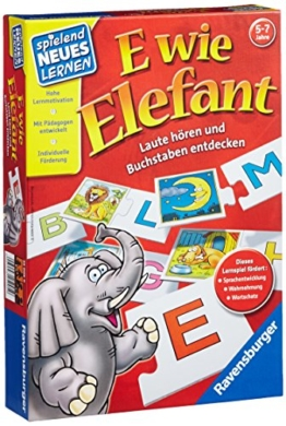 Ravensburger 25005 - E wie Elefant -