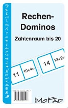 Rechen-Dominos. Zahlenraum bis 20 -