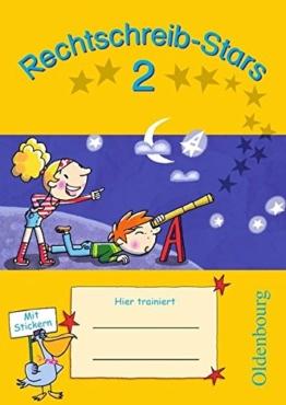 Rechtschreib-Stars: 2. Schuljahr - Übungsheft: Mit Lösungen -
