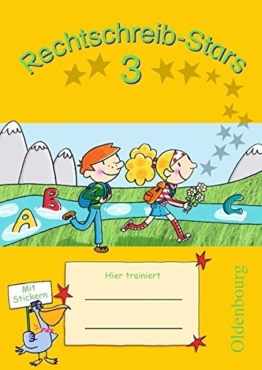 Rechtschreib-Stars: 3. Schuljahr - Übungsheft: Mit Lösungen -