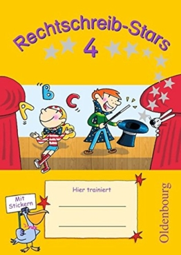 Rechtschreib-Stars: 4. Schuljahr - Übungsheft: Mit Lösungen -