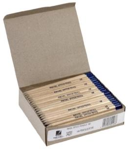 Rexel Büro-Bleistifte aus Naturholz HB 144 Stück -