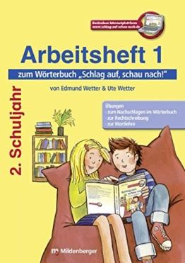Schlag auf, schau nach!: Arbeitsheft 1 zum Wörterbuch 2. Schuljahr -
