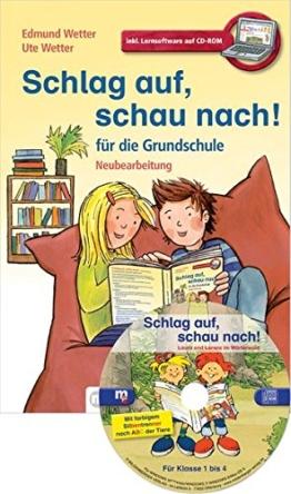 Schlag auf, schau nach!. Wörterbücher und Hefte für die Grundschule / Schlag auf, schau nach! - Wörterbuch für die Grundschule mit CD-ROM, ... alle Bundesländer außer Bayern -